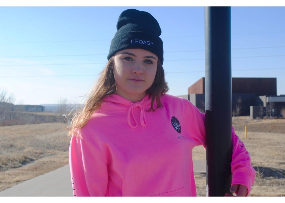 Jordan Pink Legasy Hoodie 2