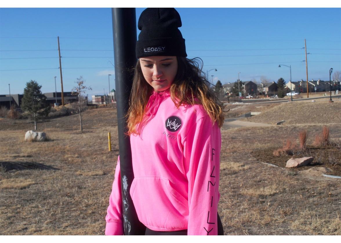Jordan Pink Legasy Hoodie 3